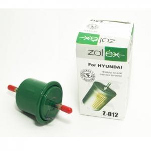 Фильтр топливный Hyundai Accent, ZOLLEX