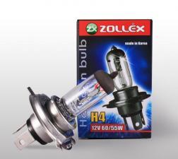 Лампа  H4 12V 60/55W, Zollex
