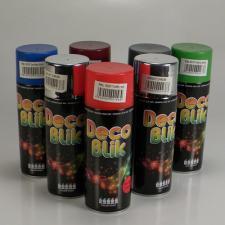 Краска аэрозоль DECO BLIK Коричневый шоколад, 450 мл.
