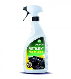 Протектант полироль пластика 750мл (ваниль) ZOLLEX