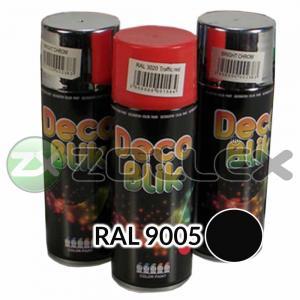 Краска аэрозоль DECO BLIK Черный матовый, 450 мл.