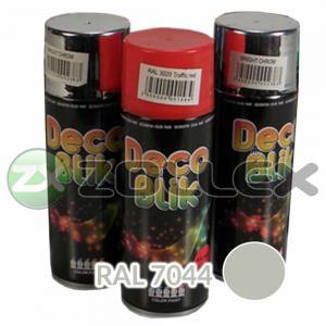 Краска аэрозоль DECO BLIK Серый шелк, 450 мл.