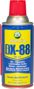 Универсальная смазка (аналог WD-40) DX-88,  450 мл. ZOLLEX