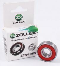 Подшипник генератора малый ВАЗ 2101-09 Z6201 2RS, ZOLLEX