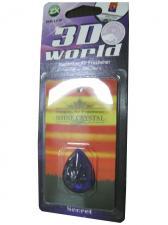 Ароматизатор серия 3D World - Secret(фиолетовый)