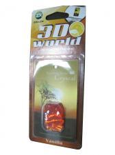 Ароматизатор серия 3D World - Vanilla(оранжевый)