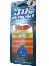 Ароматизатор серия 3D World - Ocean Breeze(голубой)