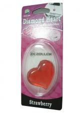 Ароматизатор в машину Diamond Heart - Клубника