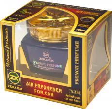 Ароматизатор  гелевый на приборную панель French Perfum, Zollex