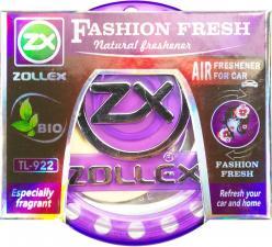 Ароматизатор  гелевый на приборную панель Feshon Fresh, 80ml,  Zollex