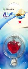 """Ароматизатор в машину подвесной  Сердце"""" Ocean,  Zollex"""""""
