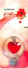 """Ароматизатор в машину подвесной  Сердце"""" Flower,  Zollex"""""""