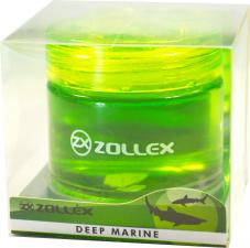 Ароматизатор  гелевый на приборную панель Deep marine, Zollex
